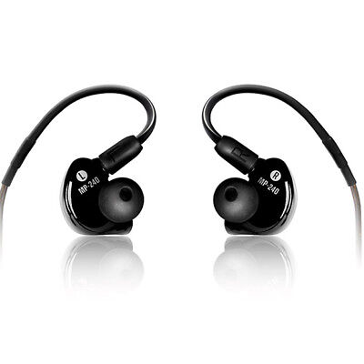 Mackie MP-240 Dual Hybrid Driver In-Ear Monitors, Full-range Sound • 141.51£