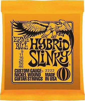 Ernie Ball Hybrid Slinky Electric Guitar Strings 9-46 Gauge • 7.49£