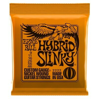 Ernie Ball Hybrid Slinky Electric Guitar Strings 9-46 • 4.32£