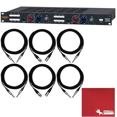 Warm Audio WA273 2-Ch British Mic Line Instrument Preamp W/ Mogami Cable Pack • 711.80£