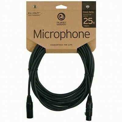 D'addario Planet Waves Classic Series XLR Microphone Cable, 25 Feet PW-CMIC-25 • 22.16£