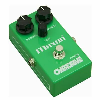 Maxon Reissue OD808 Guitar Overdrive Effects Pedal • 144.09£