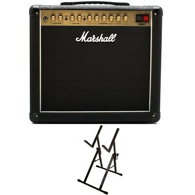 Marshall DSL20CR 1x12  Tube Guitar Combo Amplifier + Ultimate Support Amp Stand • 434.37£