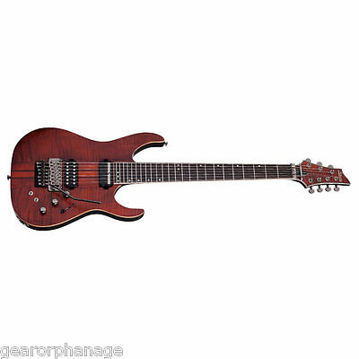 Schecter Banshee Elite-7 FR S Cats Eye Pearl CEP NEW Guitar + Gig Bag Sustainiac • 1,047.62£