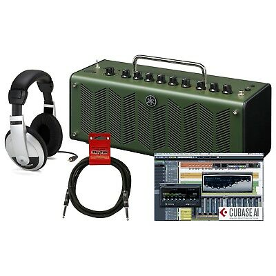 Yamaha THR10X Hi Gain Modeling Desktop Amplifier In Camouflage Green With Ope... • 273.39£