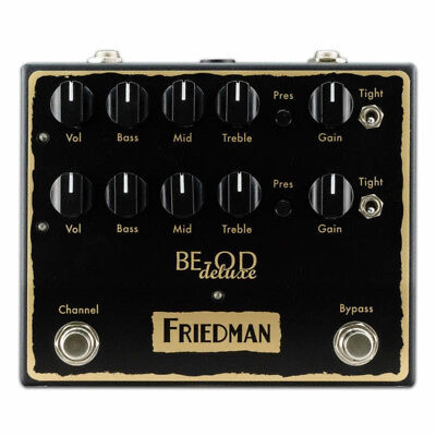 New Friedman BE-OD Deluxe Overdrive Guitar Effects Pedal • 202.62£