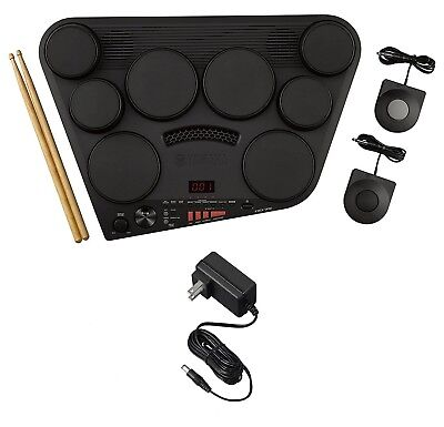 Yamaha DD75AD Portable Digital Drums Package With 2 Pedals, Drumsticks - Powe... • 208.36£