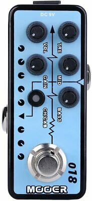 Mooer Custom 100 018 Digital Micro PreAmp Guitar Pedal • 55.28£