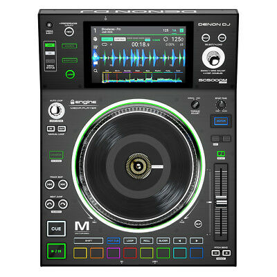 Denon SC5000M Prime Professional DJ Media Player With Motorized Platter Touch • 1,153.21£