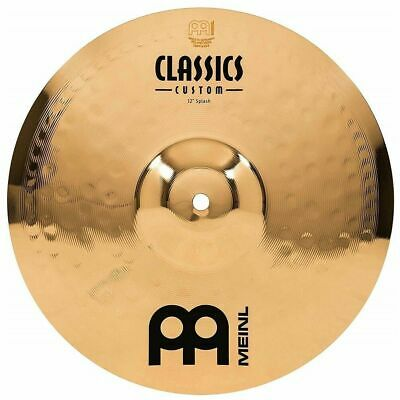 Meinl Cymbals CC12S-B 12  Splash Cymbal Classics Custom Brilliant - Made Germay • 72.97£