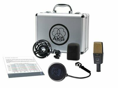 AKG C414 XLII Reference Multipattern Condenser Microphone • 896.48£