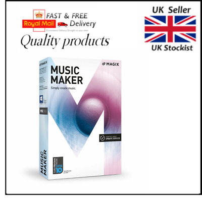 MAGIX Music Maker 2017 Plus - UK Version - For Windows 10/8/7 Just £29.99 Boxed • 29.99£