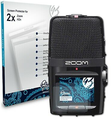 Bruni 2x Protective Film For Zoom H2n Screen Protector Screen Protection • 4.19£