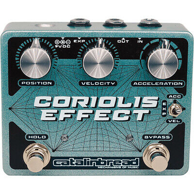 Catalinbread Pedals Coriolis Effect Sustainer Wah Filter Pitch Pedal • 185.29£