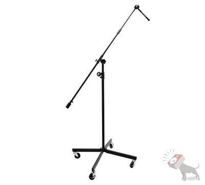 On-Stage Stands SB96+ Studio Boom Microphone Mic Stand Casters Wheels SB96 Plus  • 104.78£