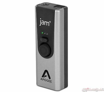Apogee JAM+ USB Instrument Input and Headphone Output for iOS, Mac and PC