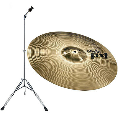 """Paiste PST3 18/"""" Crash Ride Cymbal /& Mapex Tornado Boom Cymbal Stand PST3CRR18"""