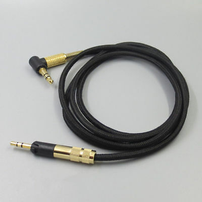 DIY Upgrade Cable Cord With MIC For Audio-Technica ATH-M50X ATH-M40X Headphones • 10.99£