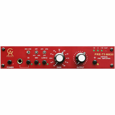 Golden Age Project Pre73 MKIII PLUS Mic Pre With Carnhills PRE-73 • 401.03£