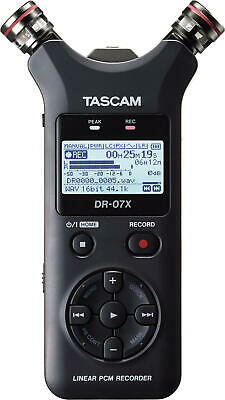 Tascam Dr-07x - Digital Recorder Handheld With Interface USB New Warranty • 124.83£