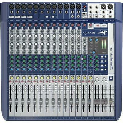 Soundcraft SIGNATURE-16-US Mixer With Effects *GREATVALUE* • 574.31£
