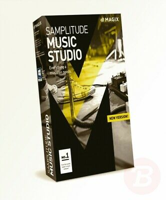 MAGIX Samplitude Music Studio – 2017 Version – The Recording Studio for ... • 58.11£