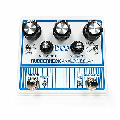 DOD Rubberneck Analog Delay Guitar Effects Pedal Digitech • 156.29£