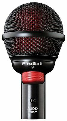 Audix*Fireball-V*Harmonica Instrument Microphone FREE 2DAY SHIPPING NEW • 96.78£