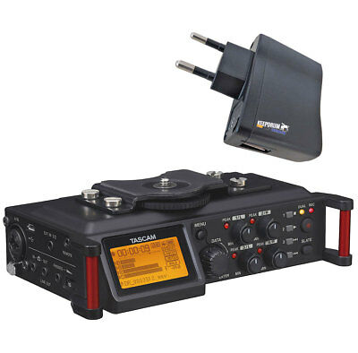 Tascam DR-70D Audio For Cameras + Keepdrum Power Supply • 256.01£