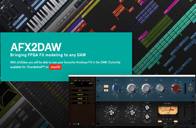Antelope Audio AFX2DAW Bridge Software For Zen Tour • 241.54£