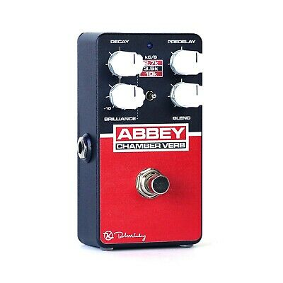 Keeley Abbey Chamber Verb Guitar Echo Reverb Pedal • 122.17£