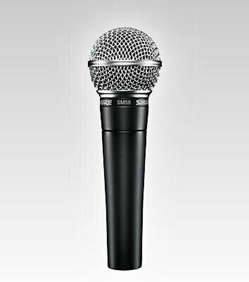 Shure SM58 Vocal Microphone • 72.34£