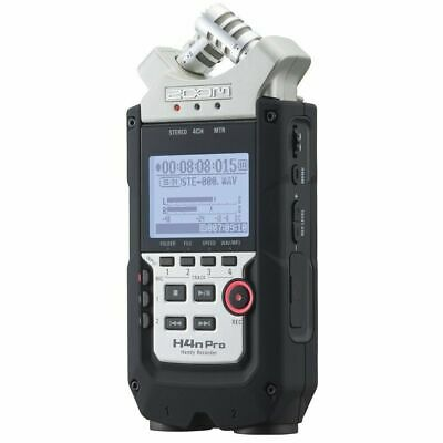 Zoom H4N Pro Handy Recorder Field Recorder And 2x2 USB Audio Interface  • 206.39£