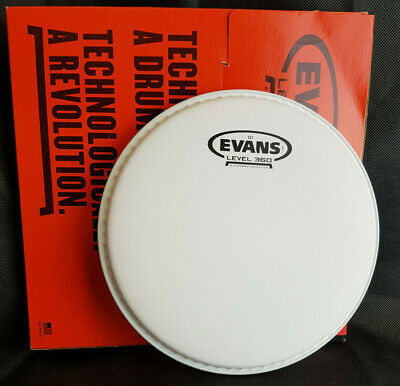 Evans G1 15  Coated B15G1 Tom Fell Weiss Level 360 Daddario Head Genera 15 Zoll • 16.21£