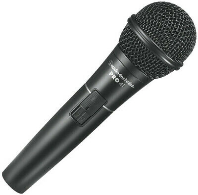 *BRAND NEW* Audio-Technica PRO41 Cardioid Dynamic Handheld Microphone W/Cable • 45.83£