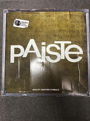 Cymbal Set Paiste 101   14  Hihat - 16  Crash - 20  Ride  - Made In Germany • 90£