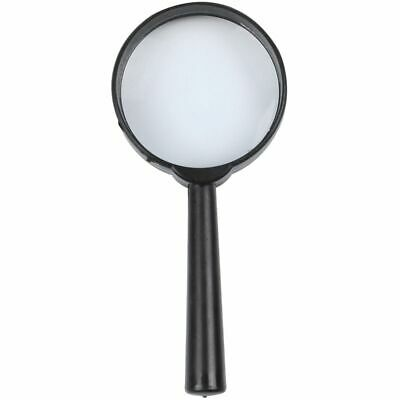 Black Plastic 5X Zoom Hand-held Magnifying Glass Diameter 40MM Black Plasti H5W9 • 2.65£