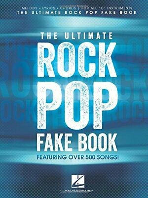 NEW - The Ultimate Rock Pop Fake Book By Hal Leonard Corp. • 28.82£