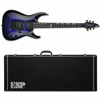 ESP E-II Horizon QM FR Reindeer Blue RDB Electric Guitar + HARD CASE B-Stock E2  • 1,153.47£
