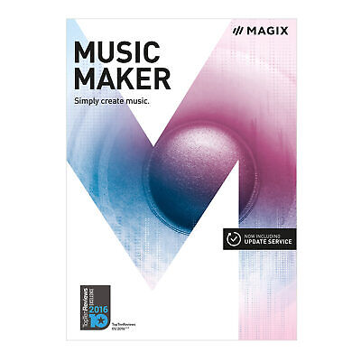 MAGIX Music Maker Plus - UK Version - For Windows 10/8/7 Official Download Only • 39.99£