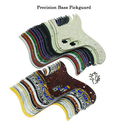 Precision P Bass Pickguard Scratch Plate for US/Mexican Fender