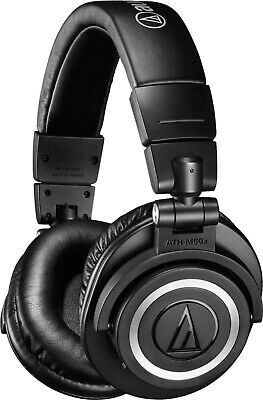 Audio Technica ATH-M50X Bluetooth Wireless Black Headphones - World-class Sound • 180£