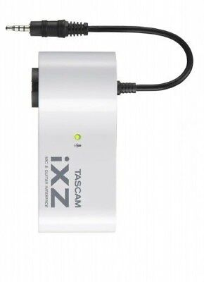 TASCAM IXZ Mic/Instrument Interface For IPad/iPhone/iPod Touch 77810 JAPAN • 39.40£