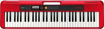 Casio Casiotone 61-Key Portable Keyboard - Red - CT-S200RD • 115.54£