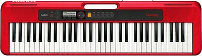 Casio Casiotone 61-Key Portable Keyboard - Red - CT-S200RD • 117.02£