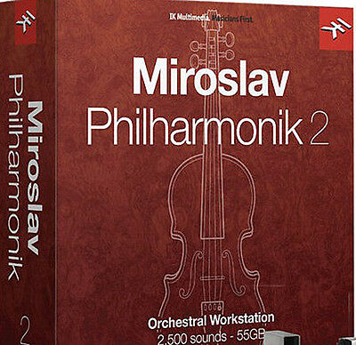 NEW IK Multimedia Miroslav Philharmonik 2 Orchestral Instrument 55GB Samples • 306.27£