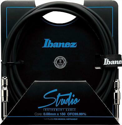 Ibanez HF10 10 Ft 2 Straight Plugs Studio Instrument Cable SI10 • 48.62£