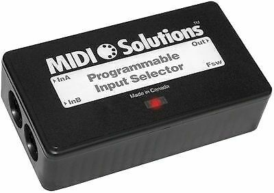 Midi Solutions- Programmable Input Selector • 107.90£