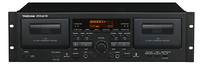 TASCAM 202 Mkvii Recorder Dual Cassette Professional New Warranty • 428.72£