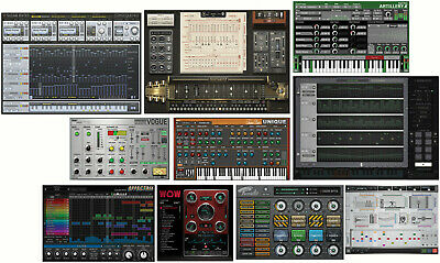 NEW Sugar Bytes Bundle Wow Cyclop Turnado Guitarist Consequence Egoist Thesys  • 387.62£